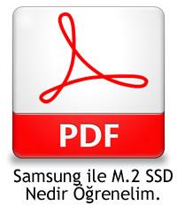 Samsung ile M.2 SSD nedir?