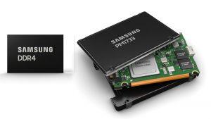 Samsung PM1733 SSD ve Yüksek Kapasiteli Bellek Çözümlerinin AMD EPYC 7002 Serisi İşlemci Desteğini D...